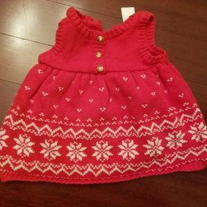 Christmas dress 0-3mnth
